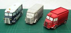 [종이모형] 미니버스 - 시트로엔 꼬마자동차 시리즈