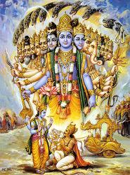 11.우주적인 모습 - विश्वरूपदर्शनयोग 바가바드 기타 Bhagavad-gītā