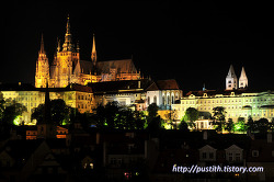유럽에서 가장 아름다운 야경 포인트 중 하나, 체코 프라하성 야경 !
