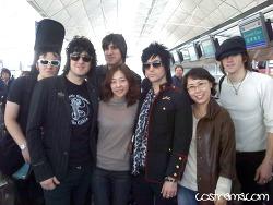 홍콩 공항에서 만난 프리마돈나 Prima donna - 그린데이 오프닝 밴드