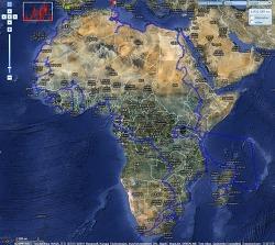 아프리카 여행 전체 통계(총 39개국, 690일)