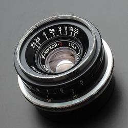 [Nikon] W-Nikkor C 3.5cm F2.5