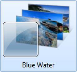 [윈도우 7 테마] 푸른 물 테마