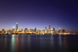 Chicago 최고의 야경!!! in Adler Planetarium