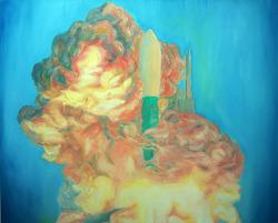 cloud 135 x 165 oil on canvas 2012