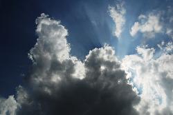 구름을 따라서..