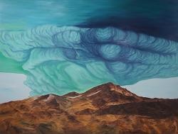 cloud 135 x 165 oil on canvas 2011