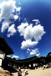 하늘....