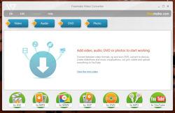 """동영상, 사운드, DVD 포맷 변환 및 이미지 슬라이드쇼 동영상 제작 """"Freemake Video Converter"""" v1.1.7"""