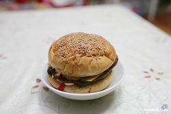 아내표 햄버거