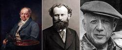 고야(Goya)를 본 마네(Manet)와 피카소(Picasso)의 역사화