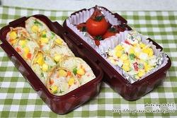 [옥수수유부초밥&콘샐러드]봄나들이 피크닉도시락~~ (소풍도시락/나들이도시락)