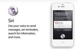 iPhone 4S 인공지능 Siri 영상 한글 자막(한국어 Siri)