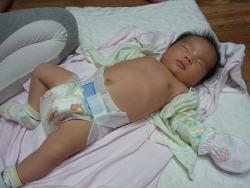 [육아5주/아기해열법] 아기 열나는 응급상황에 대처하는 남편의 자세
