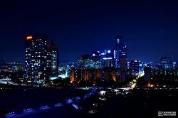 여의도 샛강 (서울의 빛 #3) - 서울 야경 포인트