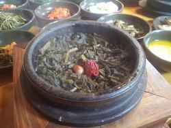 양평맛집 푸짐한 곤드래밥 과 반찬 마당