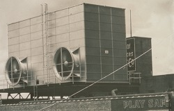 냉각탑 - 압송식 냉각탑  [ Forced Draft Cooling Tower ]