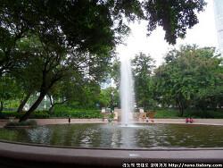 [홍콩여행] 홍콩의 아침은 도심속 넓은 쉼터 구룡공원(카우룽공원)에서..