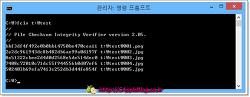 FCIV - 명령형 해시값 체크 프로그램, 마이크로소프트