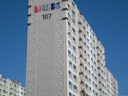 양산 서창 삼호동 한내들 아파트 외부전경사진