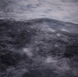 sea 100 x 100 oil on canvas 2012