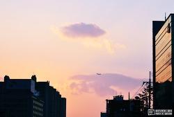 신길6동에서 바라본 하늘