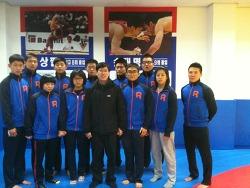 모교인 청량고등학교 레스링부 1일 팀닥터