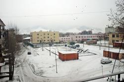 [몽골] 2009년 3월 11일 몽골에서의 첫눈