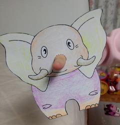 코끼리 코는 손가락으로~~