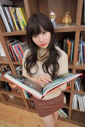 책 읽는 그녀 ... :) MODEL: 연다빈 (9-PICS)