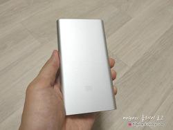 샤오미 보조배터리 2세대 신형 10000mAh 구입 후기. 정품확인 인증 완료.