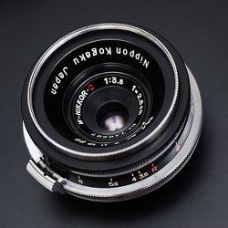 [Nikon] W-Nikkor C 2.8cm F3.5 (Revised)