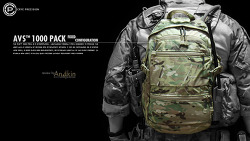 [백팩] AVS™ 1000PACK FIXED CONFIGURATION part.1 review.