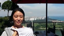 14개월 아기와 싱가폴 - Marina Bay Sands 전망대 칵테일바