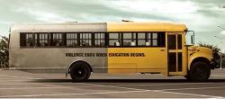 2014 칸 광고제 수상작 - 비폭력버스 Non-violence Bus