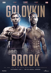 Gennady Golovkin vs Kell Brook 2016-09-10