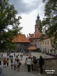 [체코#15] 체스키 크롬로프 성을 지나 체스키 크룸로프마을 광장으로