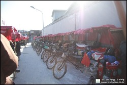 [중국여행/인력거투어] 북경여행중 인력거 타고 도시 돌기 ~ 난뤄구샹