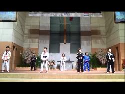 [내리교회 초등부] 2014년 성탄절 페스티벌 발표회 안무 샘플 동영상