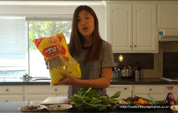 How to Make Japchae (잡채 만들기)