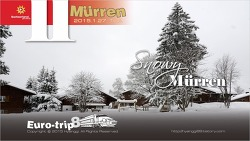 Snowy MURREN 뮈렌, 스위스