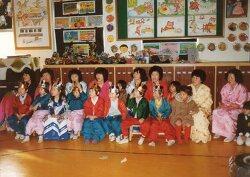 1980년대 중반 유치원 모습