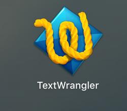 맥용 html 편집기, TextWrangler 텍스트 에디터 프로그램