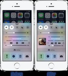 Bragi - 아이폰 제어센터에 더 나은 음악 인터페이스를 제공해주는 시디아 트윅 [iOS8 호환]