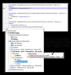 [시애틀] iOS 64bit와 유니버셜앱을 만들고 디바이스에서 디버깅할 수 있습니다.