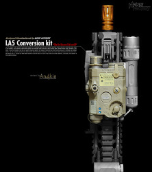 [컨버전킷] HANS FACTORY LA5 conversion kit & KPC ITI switch assemble parts kit review.
