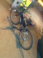 하이브리드 자전거 취미생활 복귀