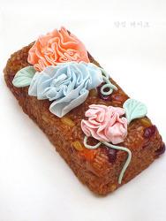 ♥ 꽃보다 예쁘고 화려한 약식 케이크를 만들어요.