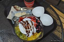 과일빙수 사진 - 부평 남부역 카페 커피비(Coffeebe) 에서 맛 본 과일 빙수