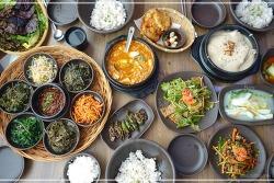 [강원도 원주 맛집] 푸짐한 한상차림 보리밥정식이 먹고 싶을때, 수변공원 근처 행구동 맛집 <보릿고개>